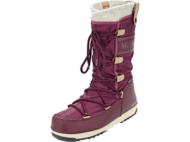 separation shoes e2bc4 00401 Moon Boot Monaco Felt WP Boots Women port royal